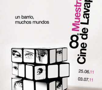 """Cartel """"8ª Muestra de cine de Lavapiés"""""""