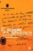 Imagen de cubierta: EL ECLIPSE DE LA DEMOCRACIA