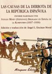 Imagen de cubierta: LAS CAUSAS DE LA DERROTA DE LA REPÚBLICA ESPAÑOLA