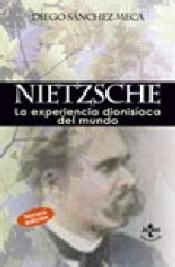 Imagen de cubierta: NIETZSCHE: LA EXPERIENCIA DIONISÍACA DEL MUNDO
