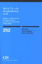 Imagen de cubierta: DEL 0,7% A LA DESOBEDIENCIA CIVIL