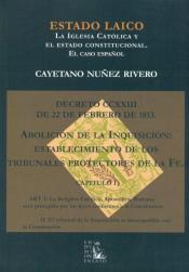 Imagen de cubierta: ESTADO LAICO