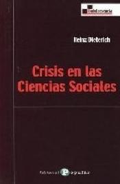 Imagen de cubierta: CRISIS EN LAS CIENCIAS SOCIALES