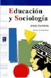 Imagen de cubierta: EDUCACIÓN Y SOCIOLOGÍA