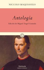 Imagen de cubierta: ANTOLOGÍA MAQUIAVELO