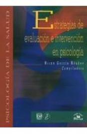 Imagen de cubierta: ESTRATEGIAS DE EVALUACIÓN E INTERVENCIÓN EN PSICOLOGÍA