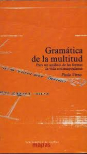 Portada Gramática de la multitud