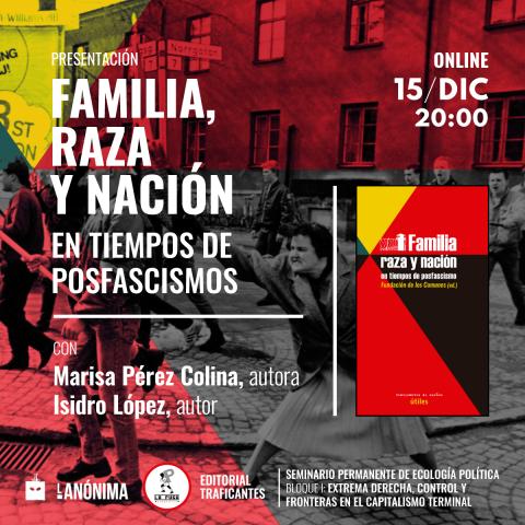 Presentación del libro compilatorio Familia, Raza y Nación