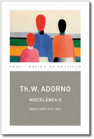 Imagen de cubierta: O.C. ADORNO LOTE CULTURA Y SOCIEDAD