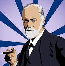 Freud fumando